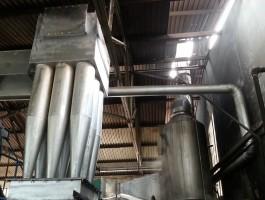 Hệ thống xử lý khói thải venturi ngang